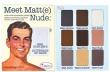 Meet Matt(e) Nude Eyeshadow Palette